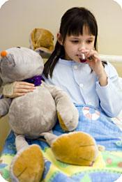 bildeserie av Lisa som også skal gjennom en operasjon