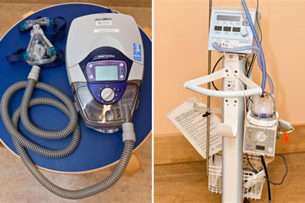 Foto av medisinteknisk utstyr