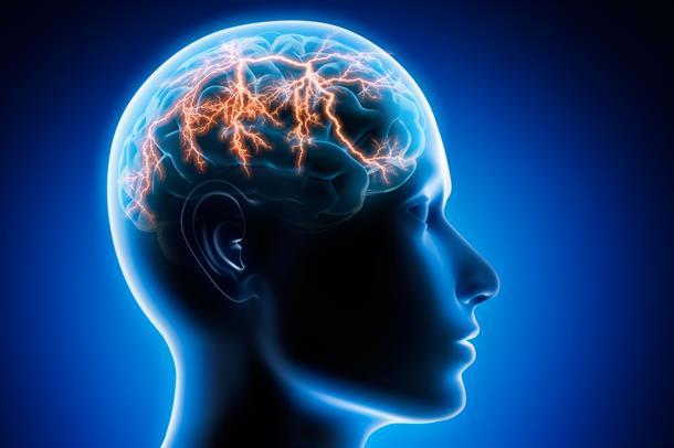 Illustrasjonsbilde av epileptisk aktivitet i hjernen