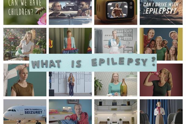 Illustrasjon til filmserie om epilepsi