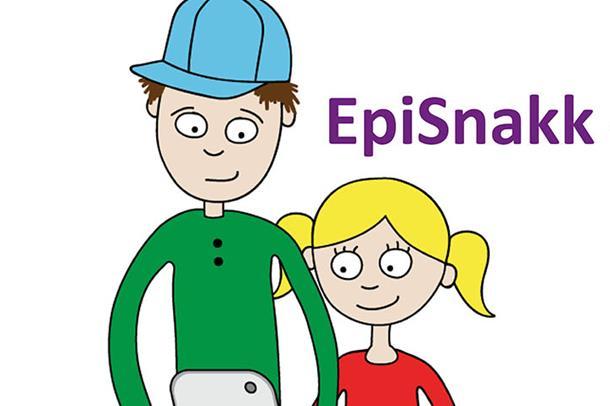 Illustrasjonstegning fra EpiSnakk