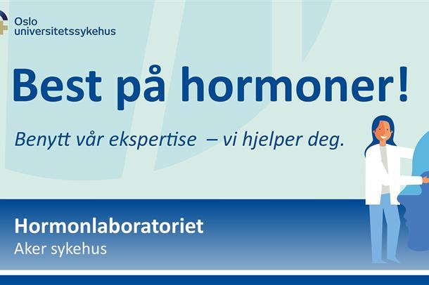 Hormonlaboratoriet: Best på hormoner!