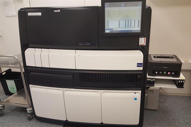 Liaison analyseinstrument