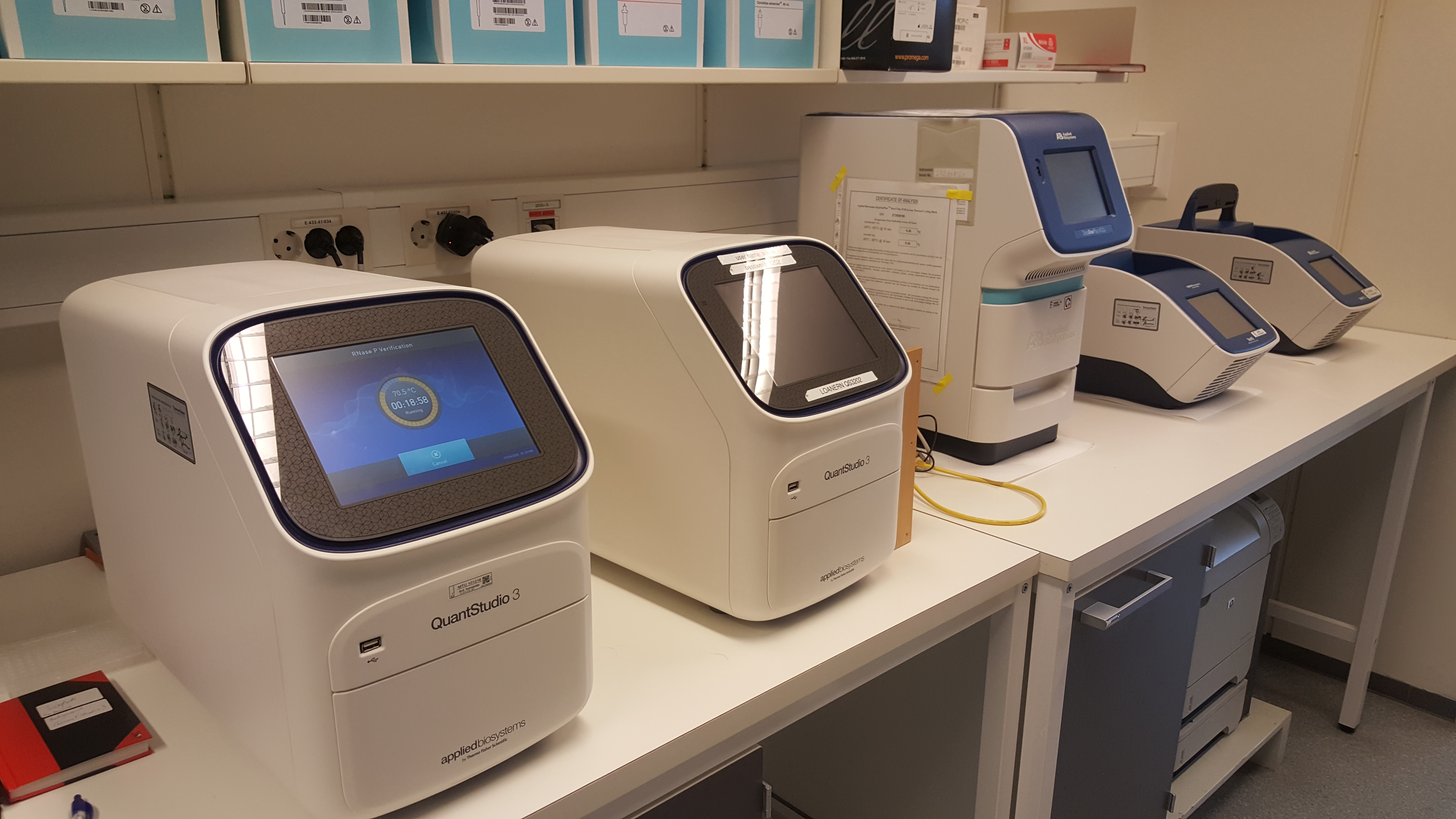 PCR-instrumenter til genotyping