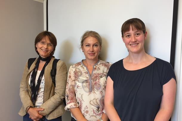 Anne Beate Helseth Udal, Valjbona Tiric Preljevic og Mariann Gjervik Heldahl er tre av de fire som har blitt tildelt stipend av