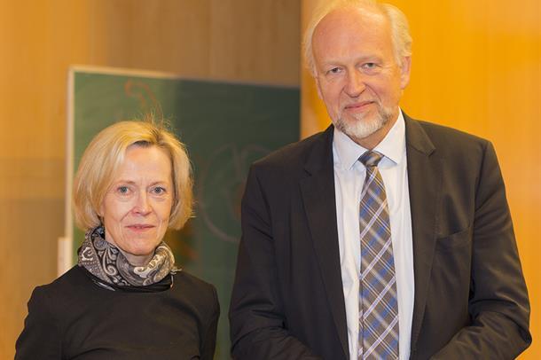 Bilde av Marit Bjartveit og Bjørn Erikstein