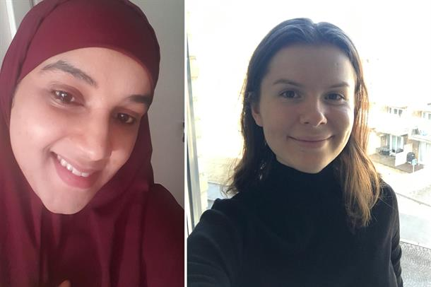 Bilde av Fawsia Hussein Sharif og Ida Jahr
