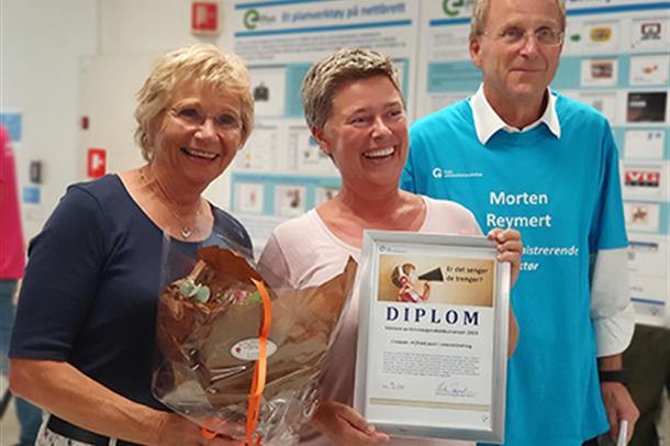 Aase Mette Bråthen og Kine Fonahn