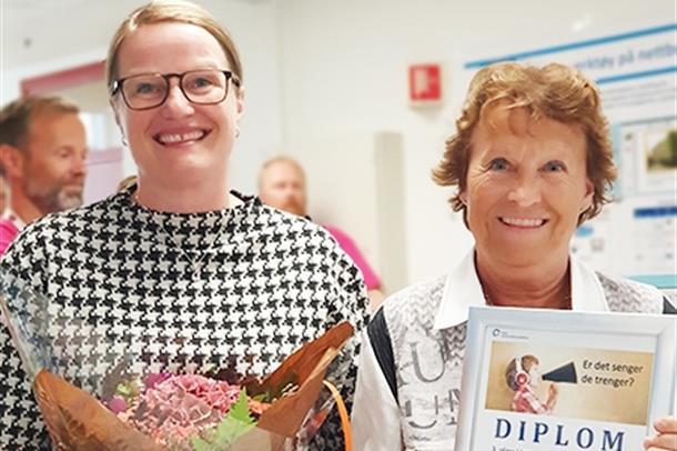 Gudveig Storhaug og Mona Haukland