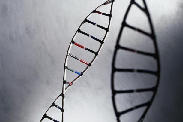 bilde av en DNA kjede