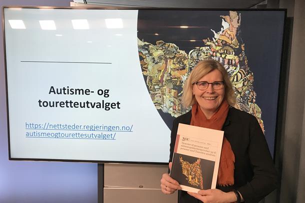 Ellen K. Munkhaugen sitter i autisme- og Touretteutvalget