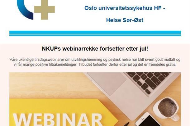 Faksimile av NKUPs nyhetsbrev