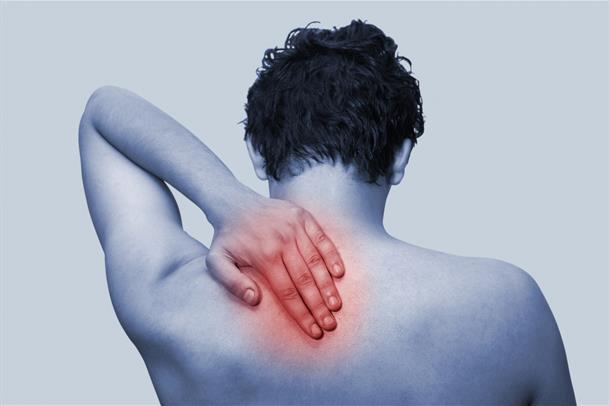 Bilde av smertesignal i nakke/rygg