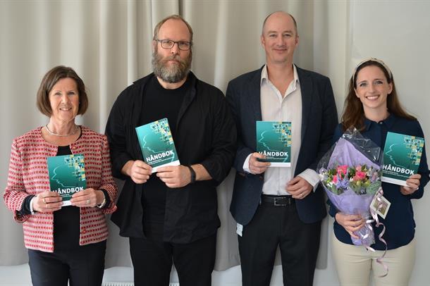Foto aSissel Berge Helverschou,, Joachim Svendsen, Espen Ajo Arnevik og Anette Ræder Brunvolc
