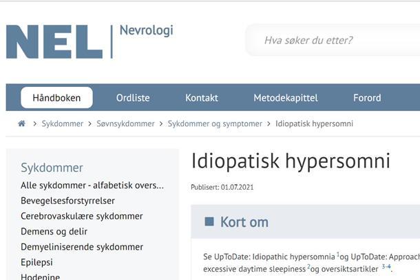 NevroNELs nettside