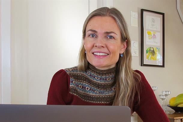 Kreftforsker Johanna Olweus